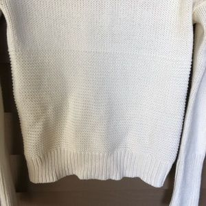 GAP Sweaters - Gap Cream Ribbed Turtleneck Small Tall